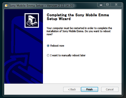 Flash tool for Xperia™ install